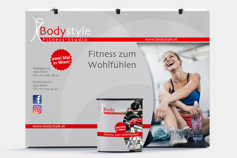 Messestand - Bodystyle Fitness