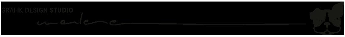 Logo 2020: GRAFIK DESIGN STUDIO marlene mit Claim und Bildmarke