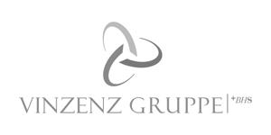 Logo grau Vinzenz Gruppe