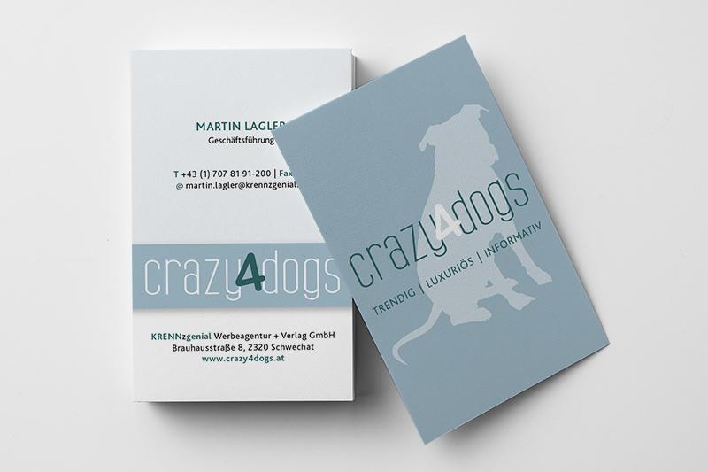 Visitenkarten crazy4dogs