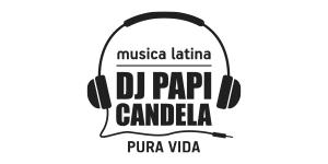 Logo DJ Papi Candela - musica latina