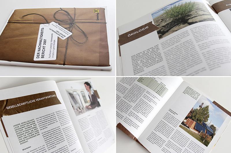 Raiffeisen Leasing Nachhaltigkeitsbericht als Add-On zum zugehörigen Geschäftsbericht 2007