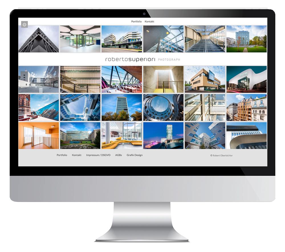 Screenshot www.foto-architektur.at