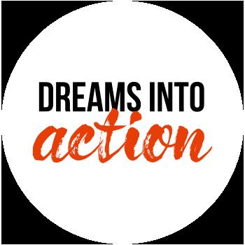 Logo für Dreams into Action, Veranstaltungsreihe