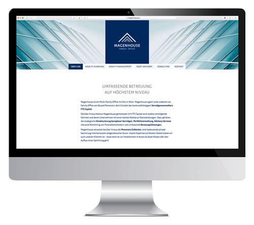 Screendesign www.magenhouse.com