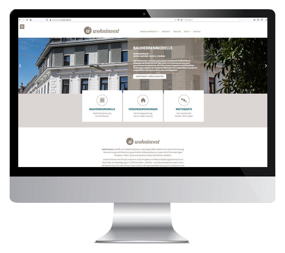 Screenshot www.wohninvest.at